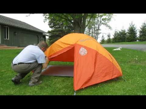 Marmot Limelight 2 - Setting Up in the Rain : marmot tent accessories - memphite.com