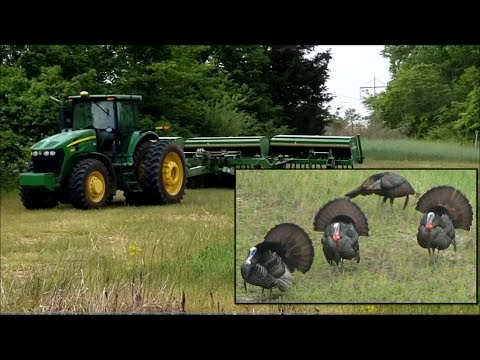 Mega Farm VLOG! Drone Crash, 1st Bass, Turkeys, Dump Truck & More! 05-25-18