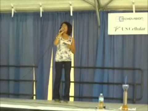 Great Jones County Fair performance 2011- Tresha Sarabia 13 years old Filipina.