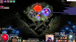 Almost RIP! Weasel confirmed crazy person :D Path of exile POE almost death thumbnail