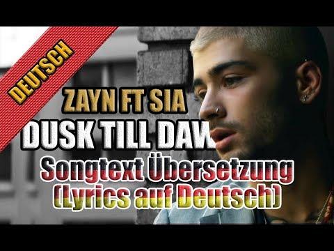 Dusk Till Dawn Von Zayn Malik Ft Sia (Female Version) - Songtext ...
