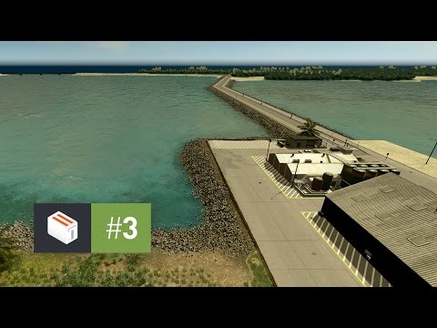 Cities Skylines: Seenu — EP 3 — International Harbor