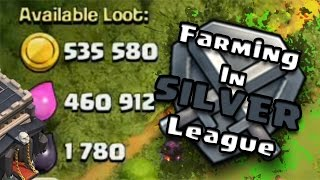[Clash Of Clans] TH9 Farming In Silver League | Farming in silver league | INSANE LOOTS |