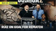"""Andy Ruiz: """"My Job Is To Not Let AJ Get Those Belts Back!"""""""