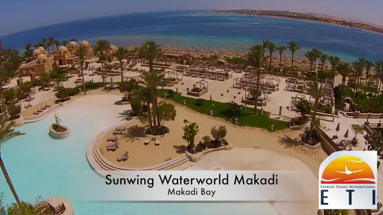 Makadi Bay Karte.Makadi Sunwing Waterworld Red Sea Hotel