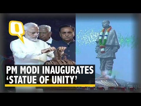 PM Modi Unveils Sardar Patel's 'Statue of Unity' | The Quint