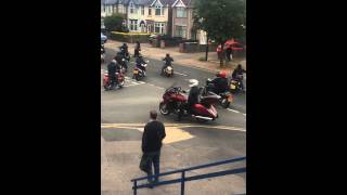 Bikers Funeral - Coventry