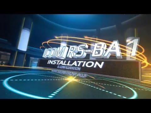 Icom RS-BA1 Installation and Configuration