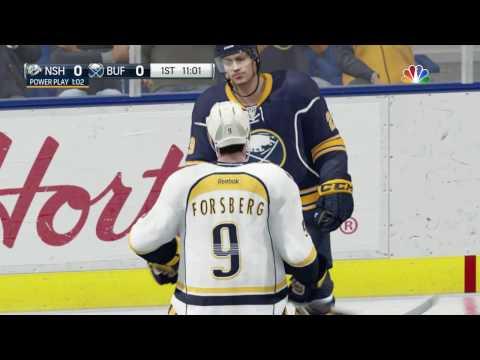 NHL 17 - PS4 - Nashville Predators vs Buffalo Sabres - Simulation Nation   2017 02