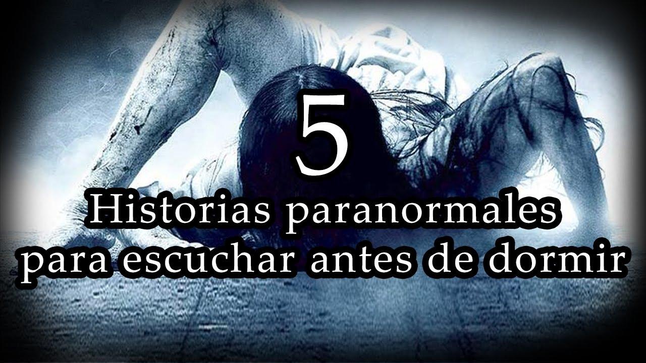 5 Historias paranormales para escuchar antes de dormir