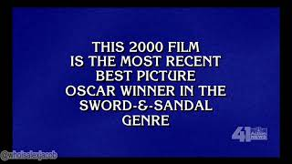 "Alex Trebek saying the word ""genre"" on Jeopardy!"
