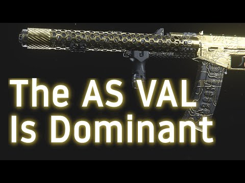 Why do I use the AS VAL exclusively? (Build Recommendations, Complementary Loadouts, Gameplay)