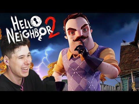 ПРИВЕТ СОСЕД 2 Hello Neighbor 2 Alpha 1 Прохождение
