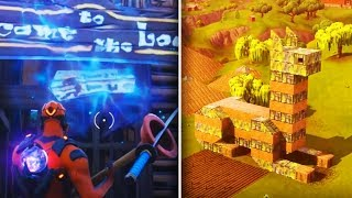 DON'T GO IN this SECRET PORTAL.. | Fortnite: Battle Royale SEASON 5 THEME