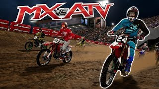 AWESOME OFFROAD DIRT BIKE RACING & CRASHING! - MX VS ATV All Out Gameplay - Dirt Bike Game