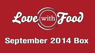 Love With Food September 2014