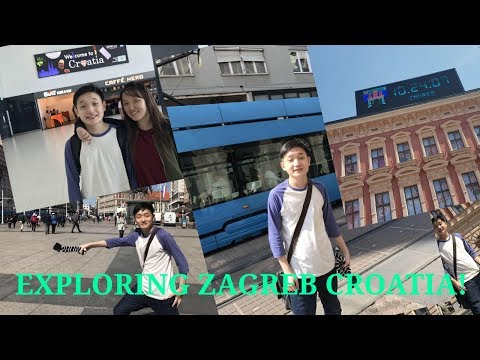 Exploring The Capital City Of Croatia! (Zagreb!)