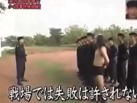 [รายการญี่ปุ่น]เอาคนตลกญี่ปุ่นมาฝึกทหารในไทย 4จบ