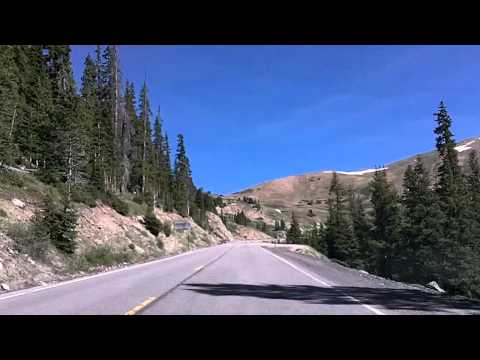 Loveland Pass and Eisenhower Tunnel, over the Continental Divide, US 6 and I-70