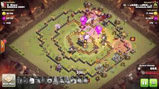 LavaLoon Attack Th11 / 3 Star Popular Th11 War Base / Th11 Attack Strategy 2016/ Clash of Clans