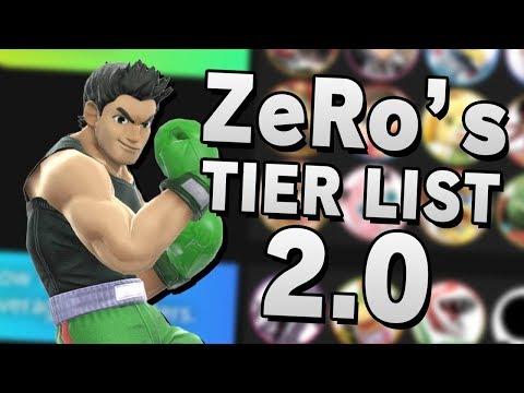 ZeRo's Super Smash Bros. Ultimate 2.00 TIER LIST & ANALYSIS - Part 1 thumbnail