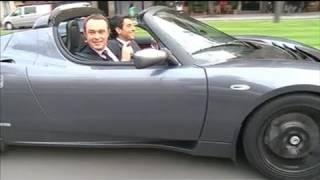 Tesla : la voiture électrique très haut de gamme