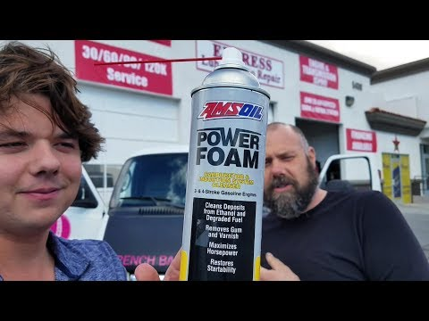 How to use AMSOIL Power Foam Engine Cleaner