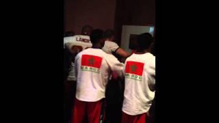 Драка на Чемпионате мира по бодибилдингу в Морокко