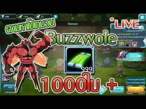 [LIVE]-PokeSaga : รี่ 1000ใบ+ เพื่อหา Buzzwole มาชชิบัน !!!!!