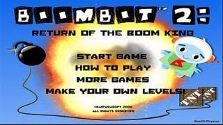 Flash Game Friday [1] BoomBot 2!