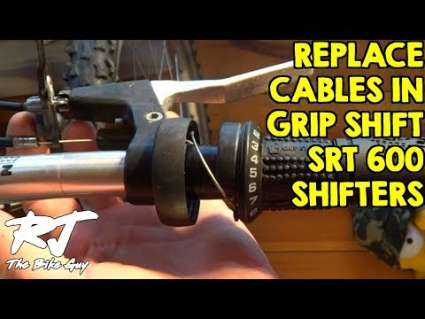 How To Replace Shifter Cable On Sram Grip Shift Srt 600