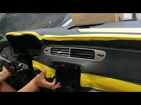 How To Camero Dash Swap Chevelle Part 2