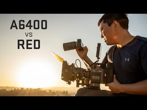 Sony A6400 4k Mirrorless Vs RED Digital Cinema Camera