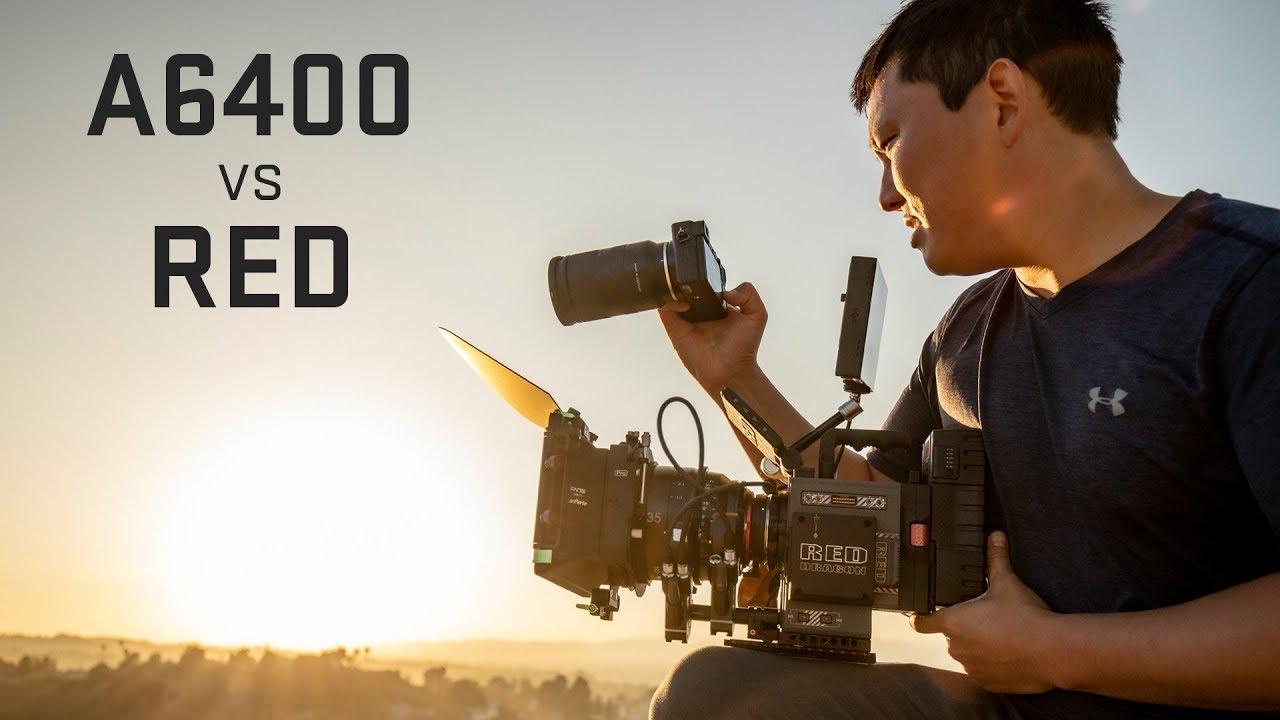 Sony a6400 4k Mirrorless vs RED Digital Cinema Camera