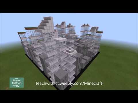 Minecraft Code Creations - Skyscraper