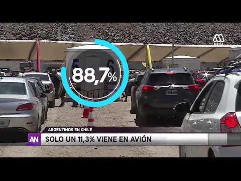 Argentinos preparan su desembarco en Chile - Ahora Noticias Central / 4 de enero  2018