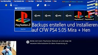 PS4 5.05 CFW Mira + Hen PS2 Backups Tutorial