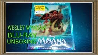 MOANA 3D BLU-RAY UNBOXING