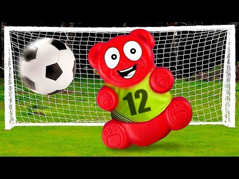SUPER SOCCER FOR JELLY GUMMY BEAR AND HIS FRIENDS