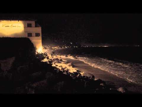 Malibu Beach Night Shot Aug 20 2015