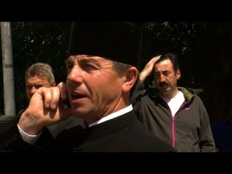 Romania priest fights shale gas exploration