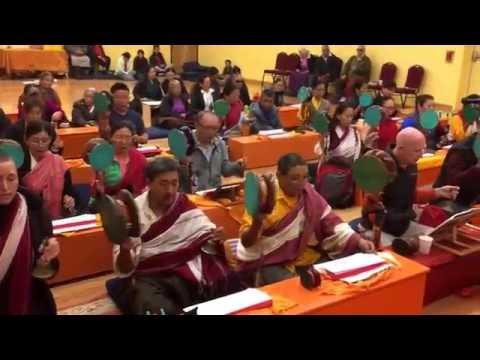 Chod Tsog led by Lama Wangdu la @ Nwtca Portland during Tibet fest 2016