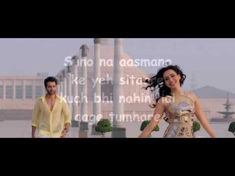 suno na sangemarmar karaoke with lyrics