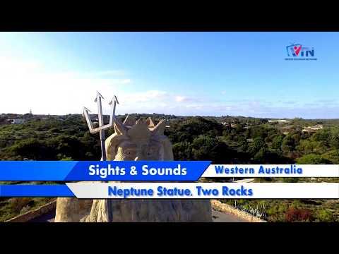 VTN | Sights Sounds | Neptune Statue |  Two Rocks | Western Australia  SAS2018