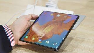 五分钟看完MWC2019上那些让人惊艳的折叠屏手机,不只有华为和三星
