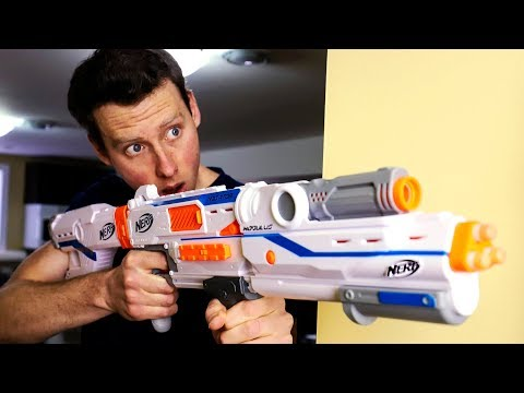 NERF WAR | FRIEND FREAK-OUT FIREFIGHT! (Aaron Vs Josh) letöltés