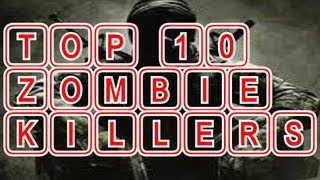 top 10 cod zombie killers the best call of duty zombie player in the world