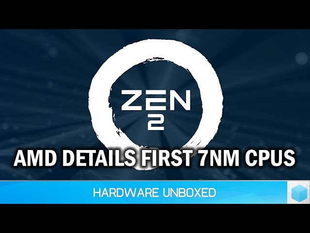 AMD's Massive Step Forward With Zen 2 And Vega 20 on 7nm