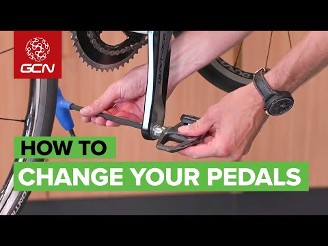 How To Change Pedals - Remove And Replace Your Bicycle Pedals