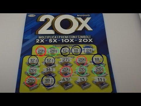Gratta e vinci nuovo 20x #10